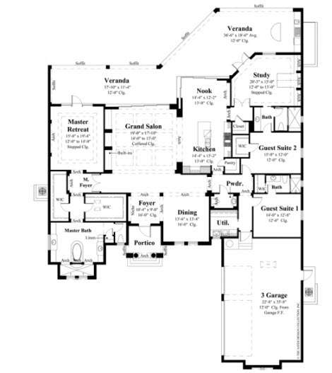 Chambord Model Floorplan