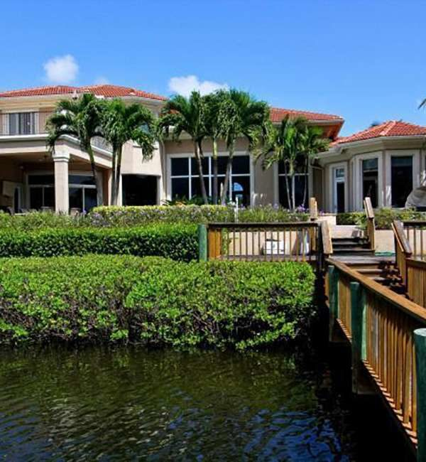 Custom Home On The Water