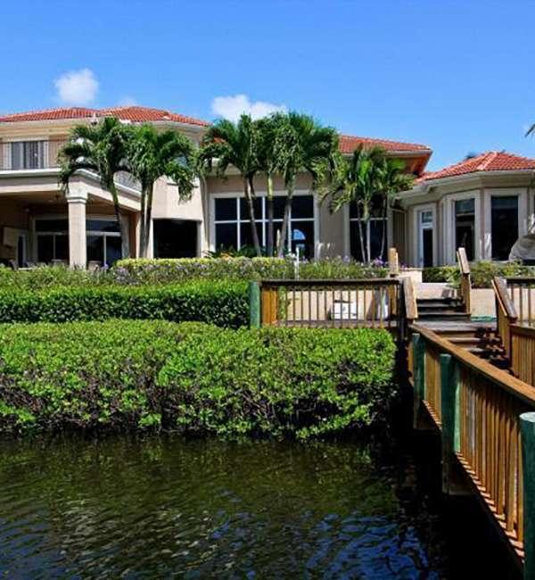 Custom Home On The Water
