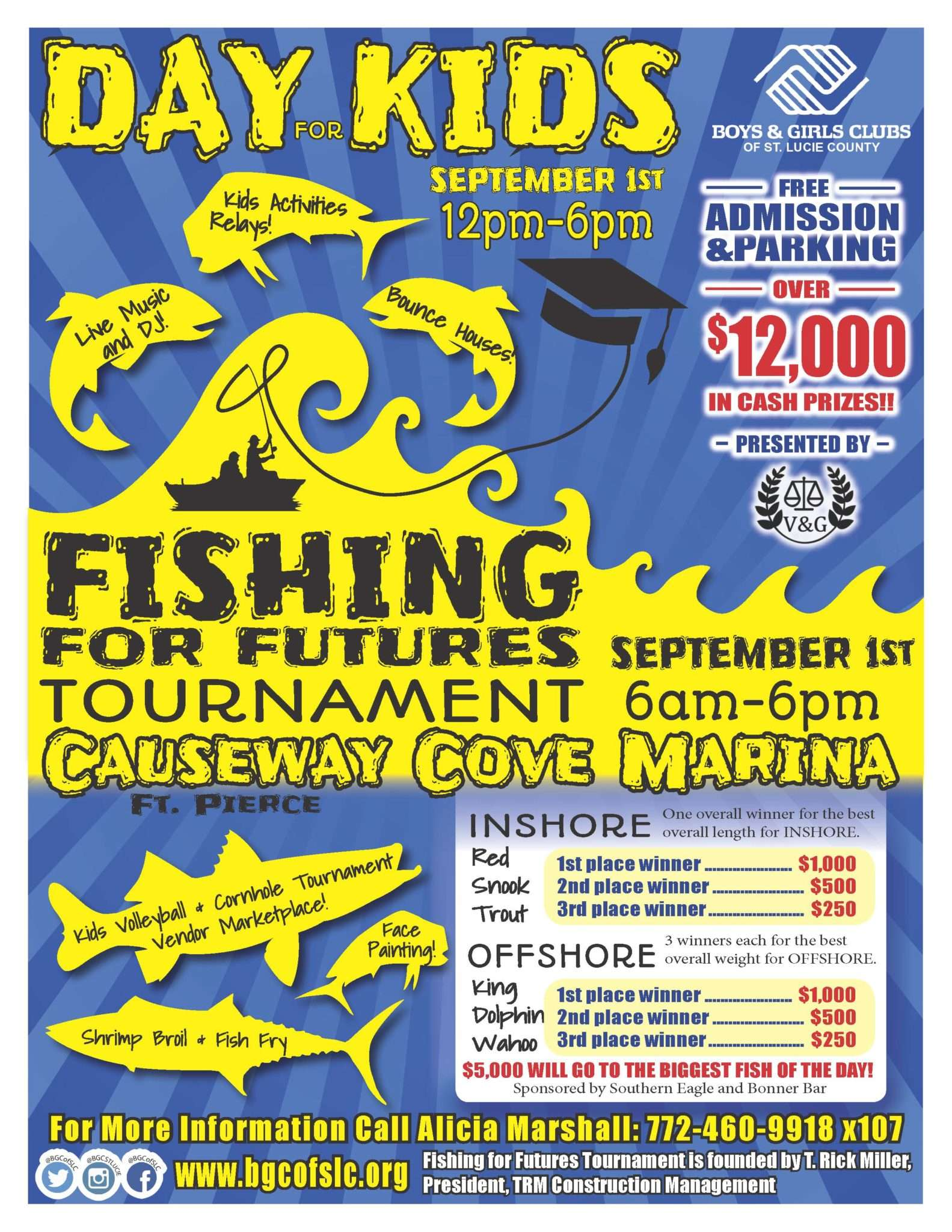 TRM Sponsors Day For Kids/Fishing For Futures