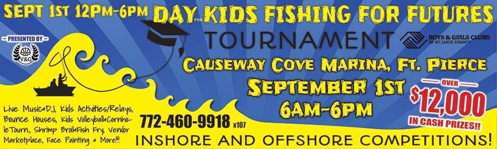 Fishing Tournament Sponsors Available