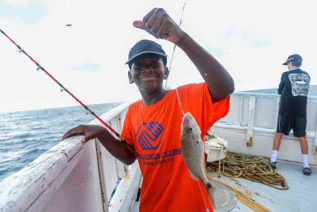 Fishing for Futures - Kid catching fish