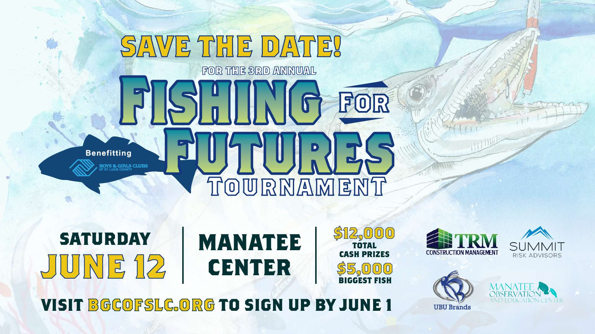 Help Fish For A Better Future, An Invite From TRM
